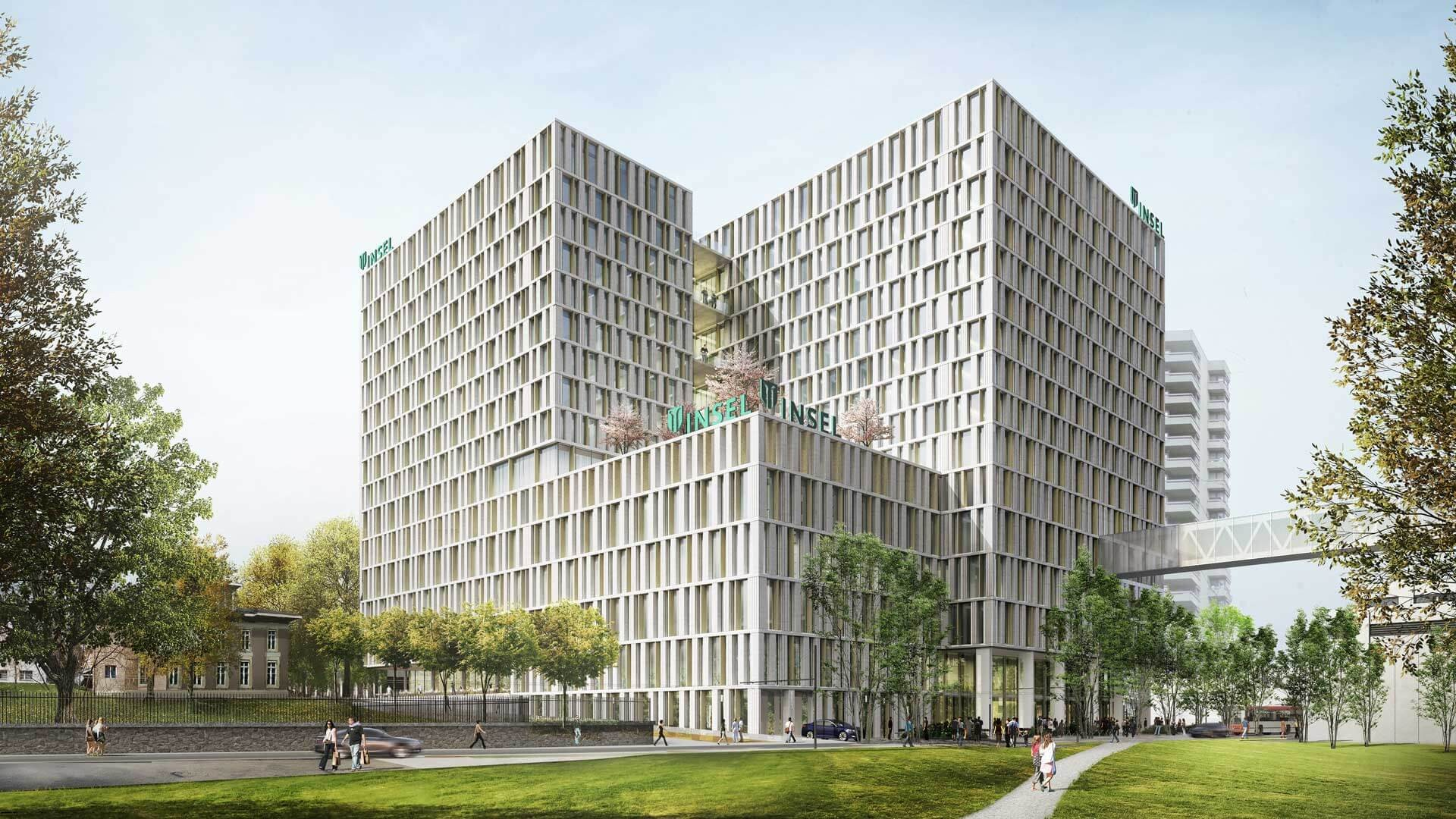 Inselspital Bern<br>New Main Building BB12